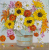 Sunflower painting, fall decor