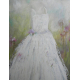 White dress surreal painting